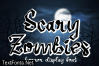 Scary Zombies Font