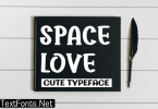 Space Love Font