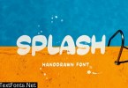 SPLASH - Handdrawn Font