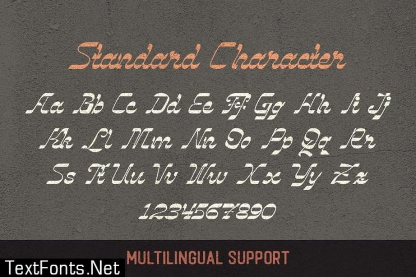 Vindale - Vintage Script Typeface