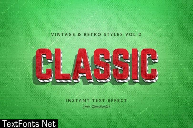 Vintage and Retro Styles Vol.2
