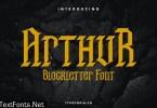 Arthur Blackletter Font