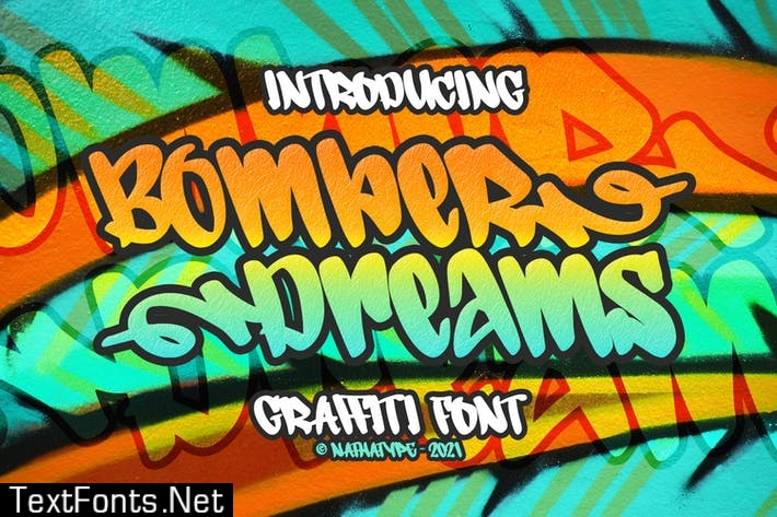 Bomber Dreams Font