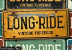 Long Ride Font