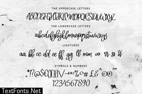Neoscopic Brush Font