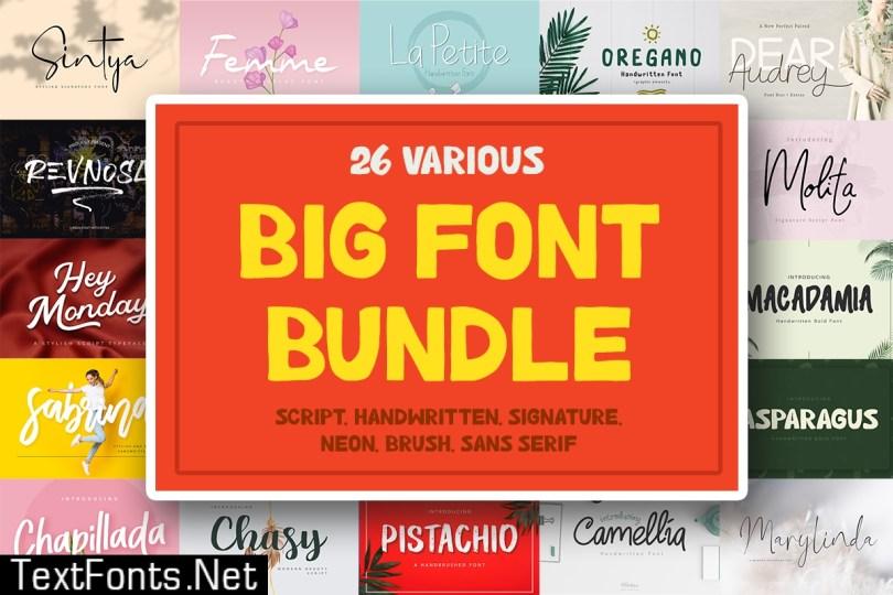 Big Font Bundle
