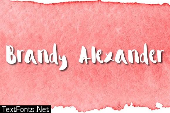 Brandy Alexander Font