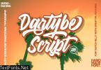 Dartybe Font