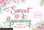 Sweet and Appealing Font Bundle