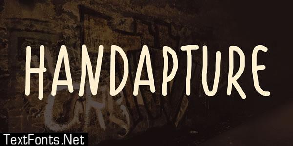 Handapture Font