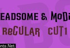 Headsome Modif Font