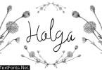 Holga Font