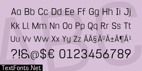 Hurufo Numero Font