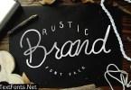 Rustic Brand Font