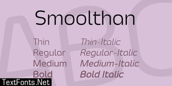 Smoolthan Font