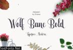 Wolf Bane Bold Font