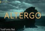 Altergo Font