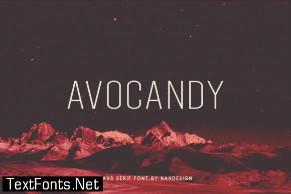Avocandy Font