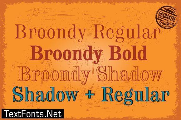 Broondy Font