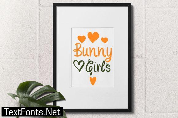 Bunny Girls Font
