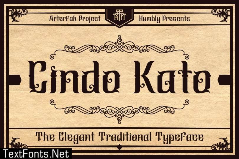 Cindo Kato FONT 526921