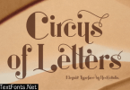 Circus of Letters Font
