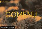 Comenu Font