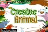 Creative Animal Font