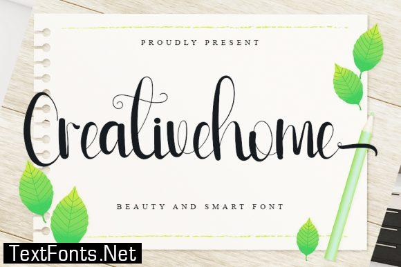 Creativehome Font