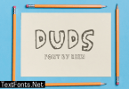 Duds Font