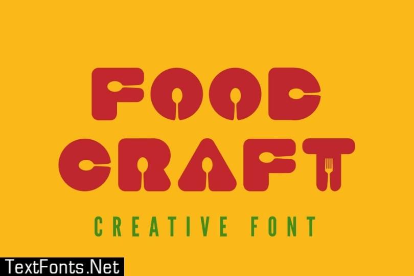 Food Craft Font 493160