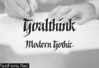 Goalthink Font
