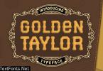 Golden Taylor Font