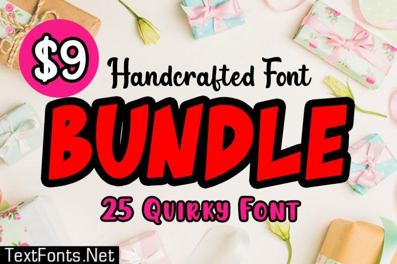 Handcrafted Font Bundle