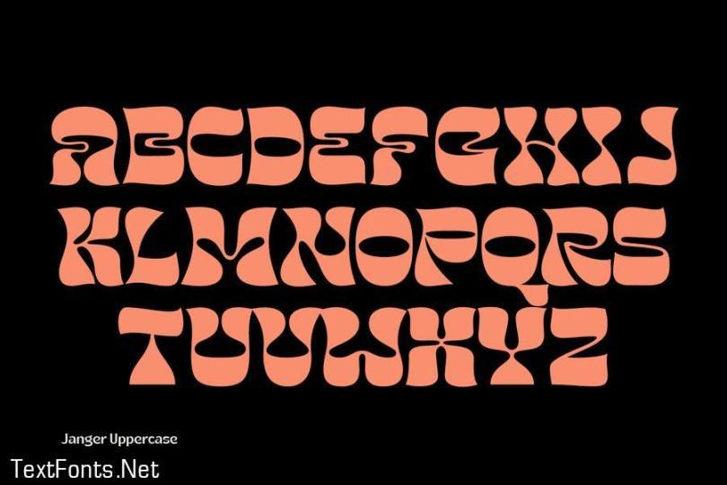 Janger - Display Font