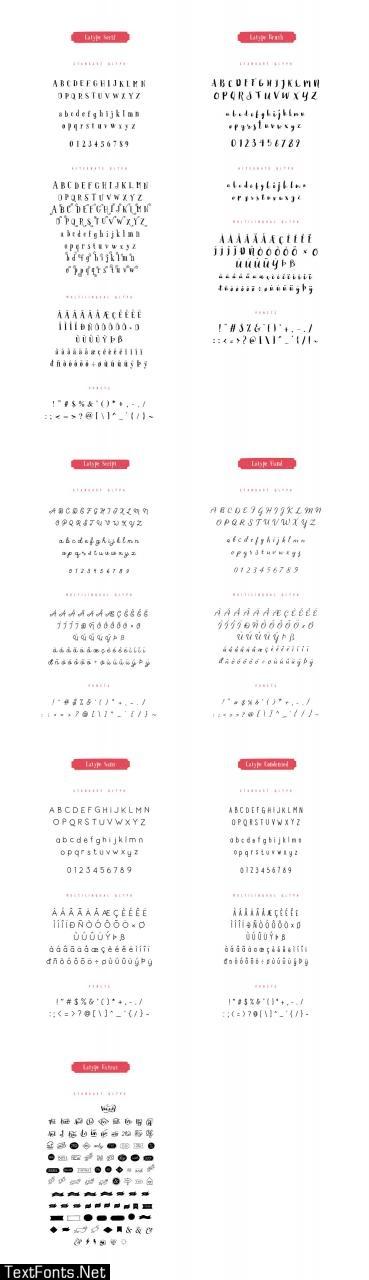 Latype Font Family
