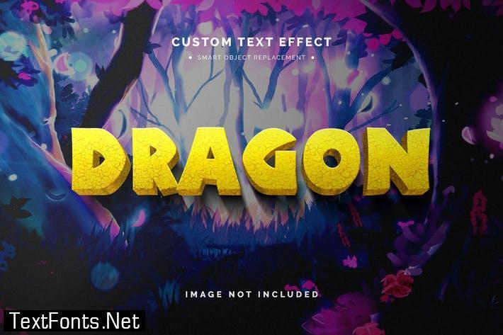Magical 3D Text Effect Mockup