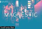 Magnestic Font