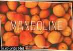 Mangoline Font