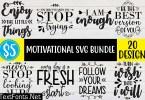 Motivational SVG Bundle