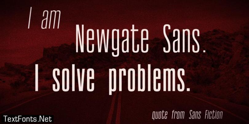 Newgate Sans Font