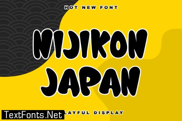 Nijikon Japan Font