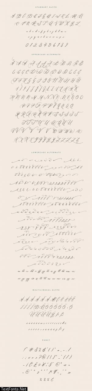Nufertum Font