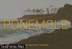 Ponemole Font