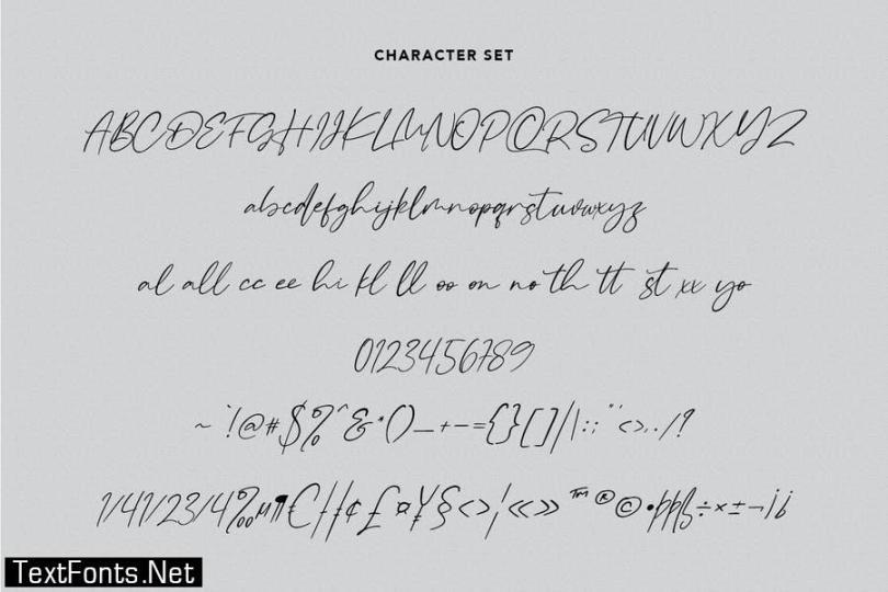 Raliscka Handwritten Script Font