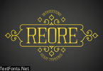 Reore Font