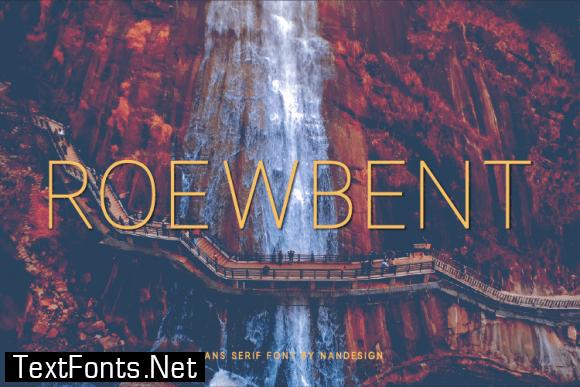 Roewbent Font