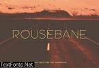 Rousebane Font