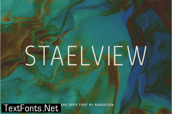 Staelview Font