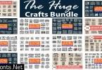 The Huge Crafts Bundle